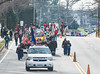 Deep Run riders and hounds take their place in the  2016 Cumberland County Christmas Parade