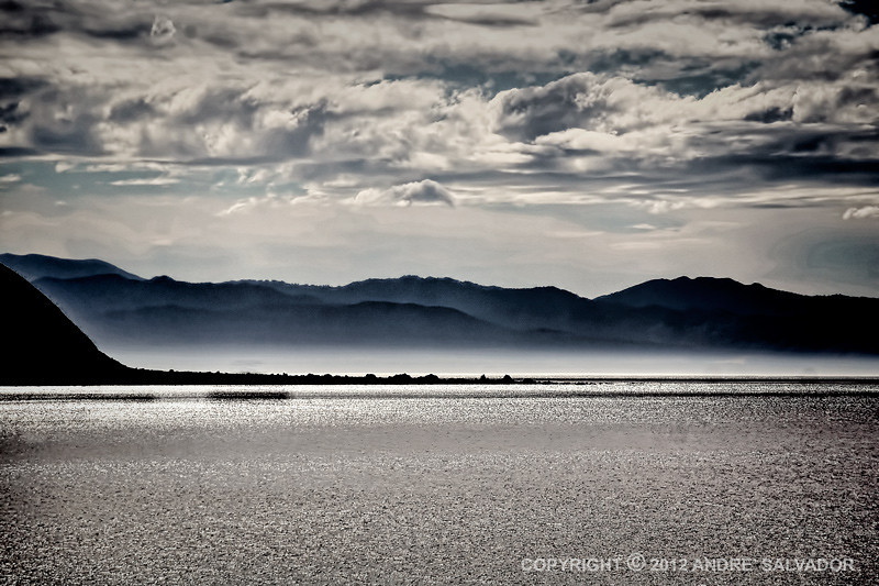 Early morning at Hawke's Bay, New Zealand.