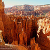 A view from the rim walk of Sunset Point, Bryce Canyon National Park, Utah.