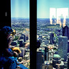 Photo taken at the Eureka Tower's observation deck.
