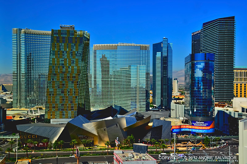City Center hotel and casino complex, Las Vegas, Nevada.