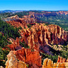 A view from Canyon Point of Bryce Canyon National Park.
