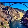 HOOVER DAM BRIDGE, COLORADO RIVER, ARIZONA