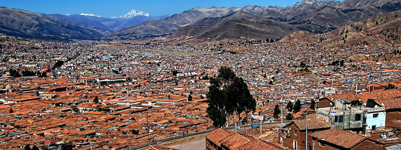 A larger view of Cusco, Peru.