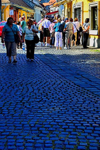 BLUE SHADOWS, SZENTENDRE, HUNGARY
