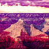 A Grand Canyon National Park view, taken from the south rim, Arizona, USA.