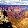 Another view of the Grand Canyon from the south rim, Arizona, USA.