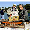 San Francisco Model Boat racing and exhibition at San Francisco Golden gate Park, California.