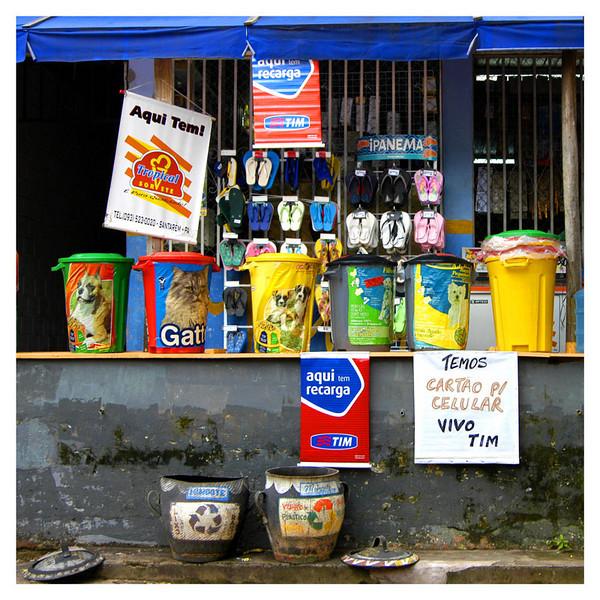 A neighborhood store at Santarem, Brazil.