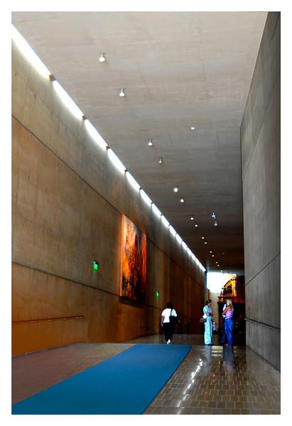 Entrance hallway of Los Angeles Cathedral