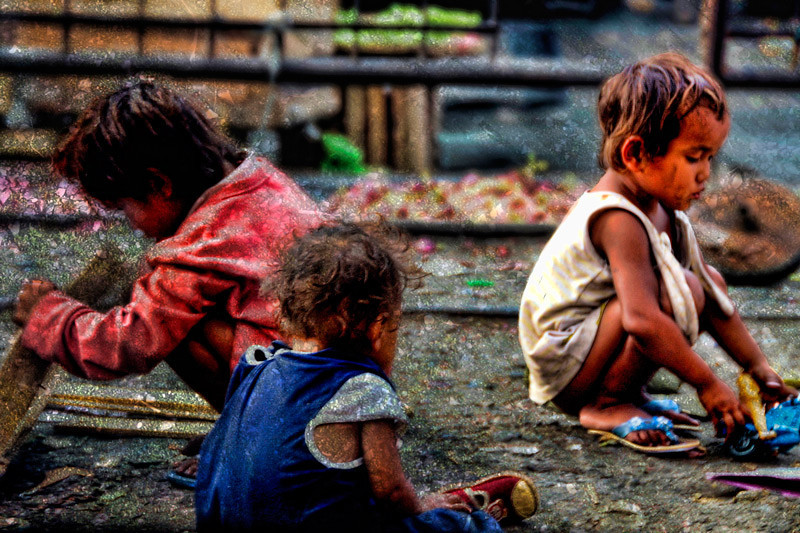 "This is one of two of the photographs in my pictorial book ""DIVISORIA"". A documentation of the poverty and neglect of children in the city of Manila. You may click on the link to preview my book <a href=""http://www.blurb.com/bookstore/detail/852303""><b>DIVISORIA<b></a>"