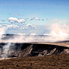 Another view of Kilauea volcano's crater.