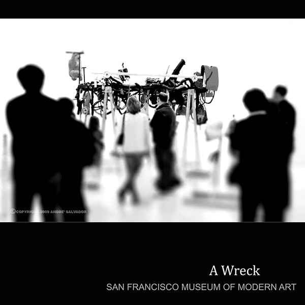 This is one of my photos in my series taken at San Francisco Museum of Modern Art.