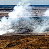 A closer look at Kilauea volcano's crater, the big island Hawaii of Hawaii Island group, USA.