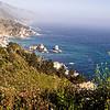 California's Pacific Coast at Big Sur area.