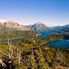 The lake area of the Swiss Colony, San Carlos de Bariloche, Patagonia, Argentina.