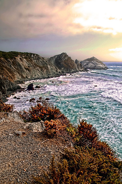 A view of the California Coast at Big Sur.