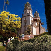 Hearst Castle at San Simeon, California, USA.