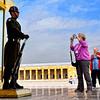 The guard at the Ataturk Museum and Mausoleum in Ankara, Turkey.