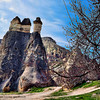 "The chimneys or ""Hoodoos"" of Cappadocia, Turkey."