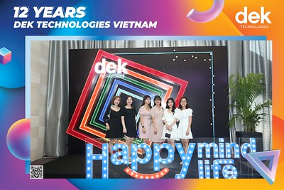 DEK TECHNOLOGIES | Year End Party 2020 instant print photo booth @ Gala Center Wedding & Convention | Chụp hình in ảnh lấy liền Tất niên 2020 tại TP Hồ Chí Minh | WefieBox Photobooth Vietnam