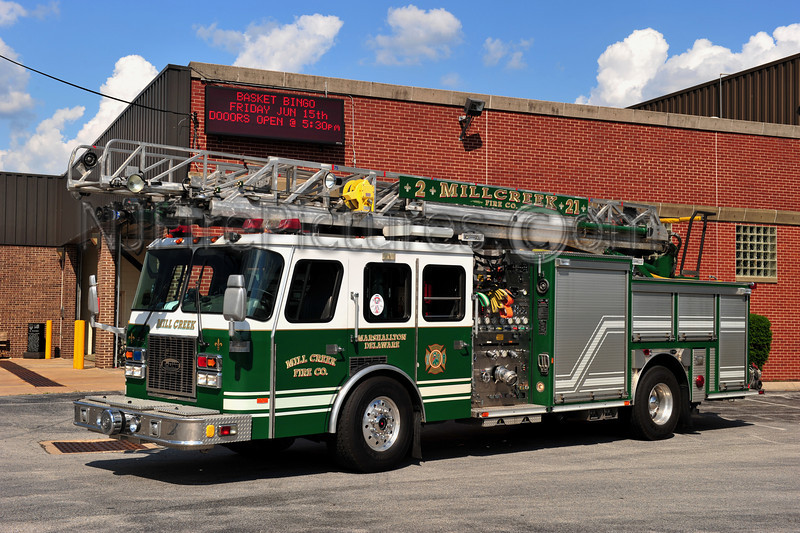 MARSHALLTON (MILL CREEK FIRE CO.) LADDER 21-7