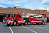FIVE POINTS FIRE CO. LADDER 17 - 1991 PIERCE LANCE/2006 AMERICANLAFRANCE/LTI 100' TDA