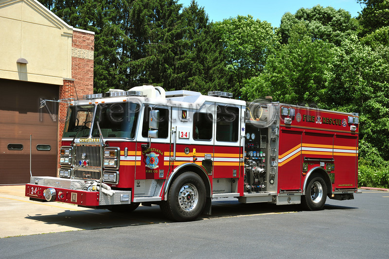 CHRISTIANA, DE ENGINE 3-4
