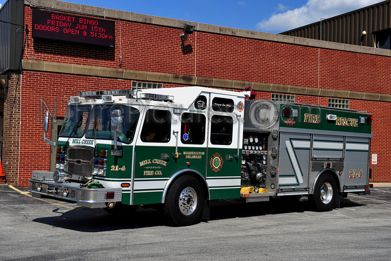 MARSHALLTON (MILL CREEK FIRE CO.) ENGINE 21-6