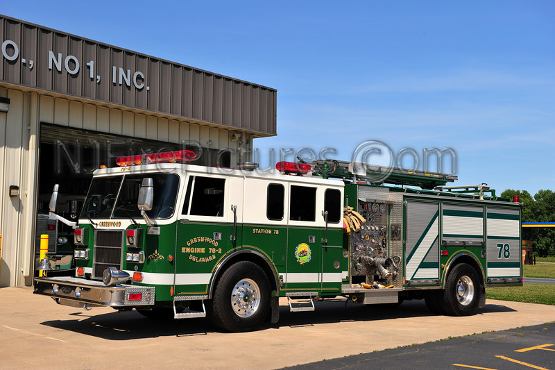 GREENWOOD, DE ENGINE 78-2 - 1993 PIERCE LANCE 1500/1000/50