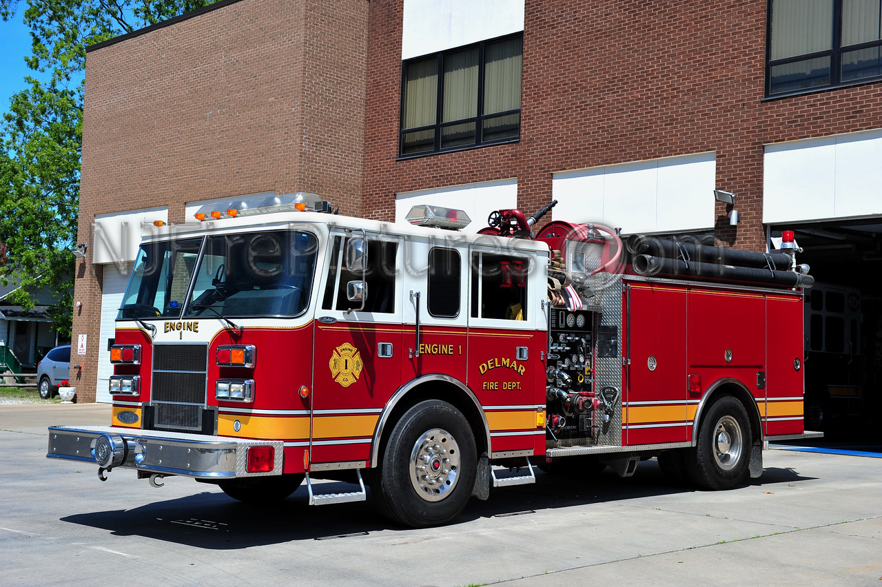 DELMAR, DE ENGINE 74-1 - PIERCE SABER 1250/1000/50A