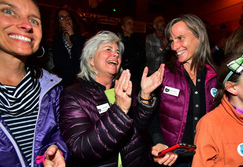 Boulder County Democratic Party election watch party