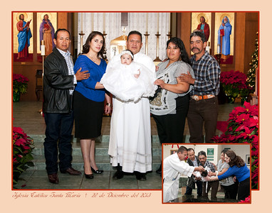 Baptisms at St. Mary Catholic Church