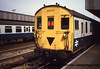 Class 205 3 Car Thumper DEMU number 205 017 is seen at Ashford.<br /> 1987