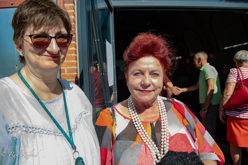 Irene Hansen og Agnete Louise Enoch fra det nedlagte Cirkus Dannebrog