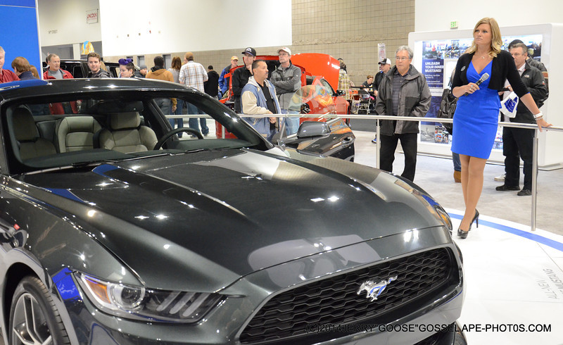 FORD MUSTANG WITH BEST OF SHOW!