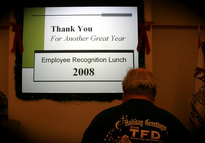 TFD --Employee Recognition Lunch 2008 -- Day Two