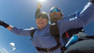 Desi Peneva - Tandem Skydive at Skydive Fyrosity Las Vegas