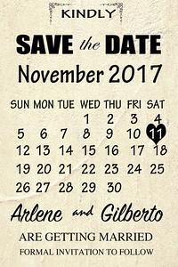 arlene&Gilberto-save the date