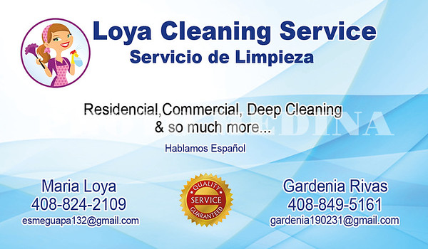 Loya Cleaning Service-Front