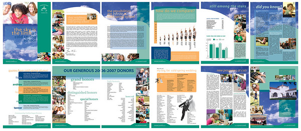 BROCHURES + RAPPORTS