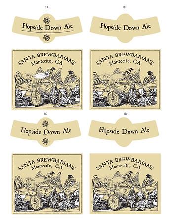 Beer labels8up