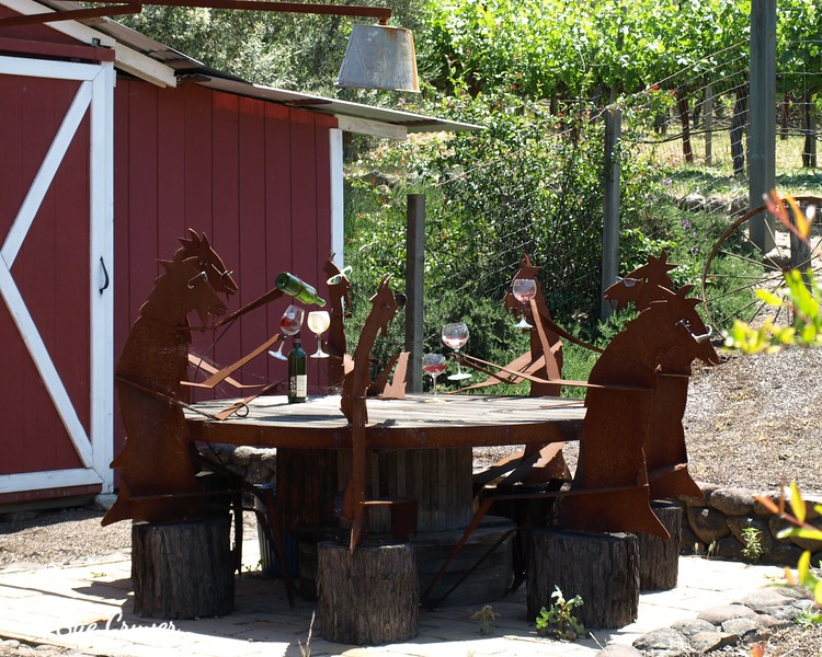 Whimsical Vineyard Art