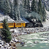 Taken from the Durango Silverton train