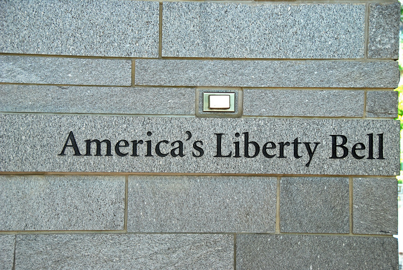 Liberty Bell area