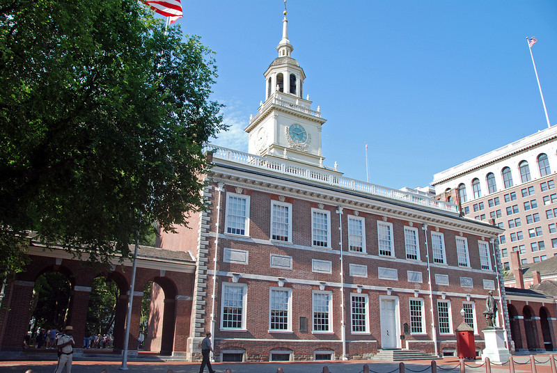 Independence Hall - Where the Declaration of Independence & Constitution were signed