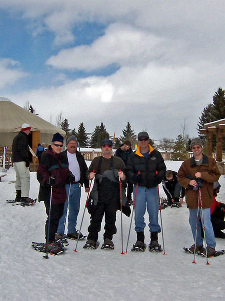 Snow Shoe skiing
