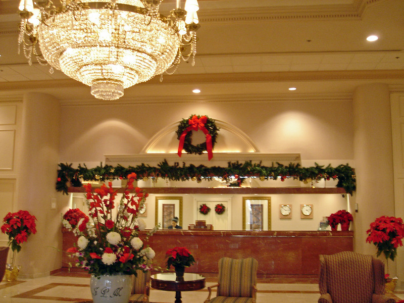 Tyson's Corner hotel lobby (love all these hotels)