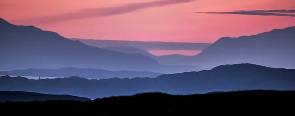 The Àird nam Murchan Point Sunset