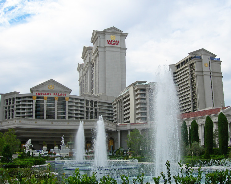 Caesars Palace and Fountains